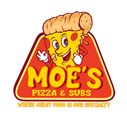 Picture of Moe's pizza and subs